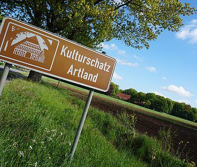 Die Erlebnisregion Artland im Osnabrücker Land ist eine liebliche Landschaft mit einer jahrhundertealten Bauernhofkultur.